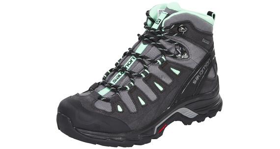 Salomon Quest Prime GTX Hiking Shoes Women Detroit/AsphaltLlucite Green